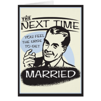 Funny Divorce Greeting Card