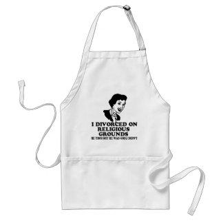 Funny divorce standard apron