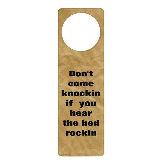 Funny Do Not Disturb Door Hanger