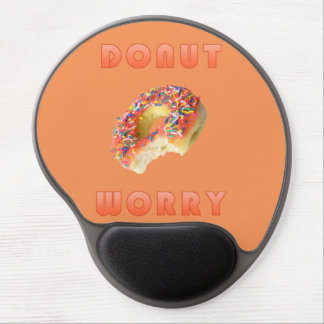 Funny Do Nut Worry Gel Mousepad