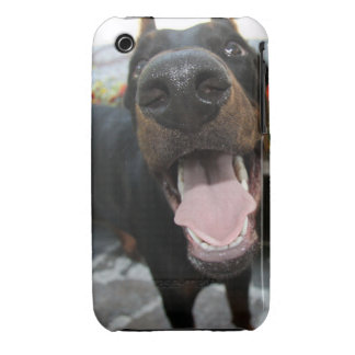 Funny Doberman iPhone 3 Case