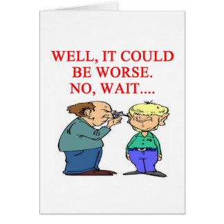 funny doctor joke card