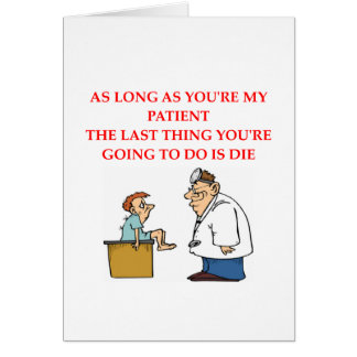 funny doctor joke card