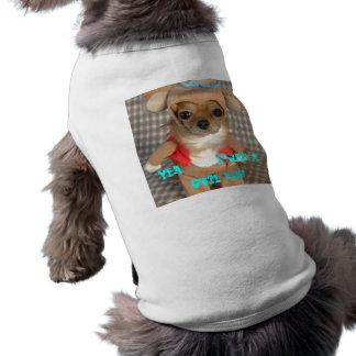 funny-dog-costume[1], Yea . . . . I was a cute ... Sleeveless Dog Shirt