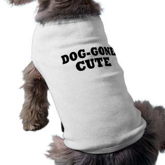 Funny Dog gone Cute Dog T Shirt