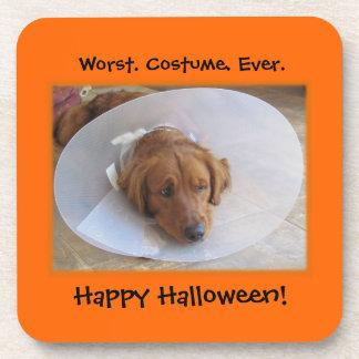 Funny Dog Halloween Coasters