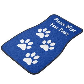 Funny Dog Paw Car Mats Floor Mat