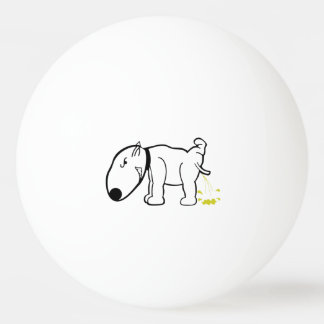 Funny Dog Peeing Ping or Beer Pong Ball