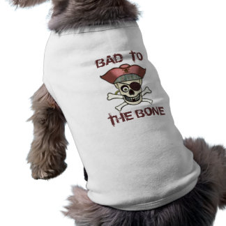 Funny Dog Pirate Sleeveless Dog Shirt