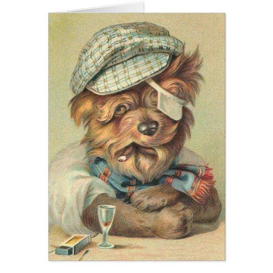 Funny Dog Retirement Card