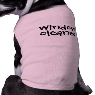 Funny Dog Shirt Window Cleaner for Licking Bad Dog