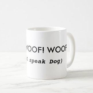 Funny Dog-themed Coffee Mug