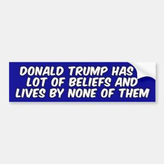 Funny Donald Trump Joke Bumper Sticker