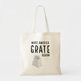 Funny Donald Trump Political Parody Budget Tote Bag