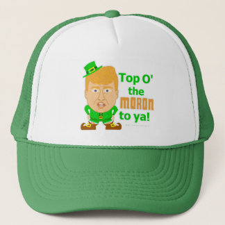 Funny Donald Trump St Patricks Leprechaun 2016 Trucker Hat