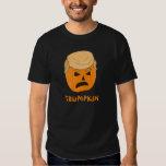 Funny Donald Trumpkin Pumpkin Jack-o-lantern Tee Shirt