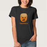 Funny Donald Trumpkin Pumpkin Jack-o-lantern T Shirts