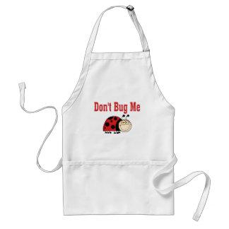 Funny Don't Bug Me Ladybug Aprons