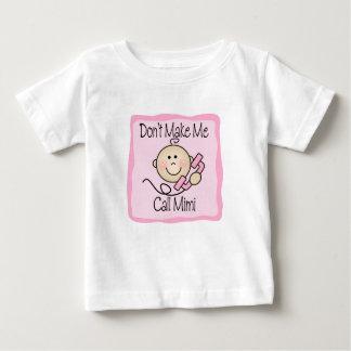 Funny Don't Make Me Call Mimi Infant T-Shirt