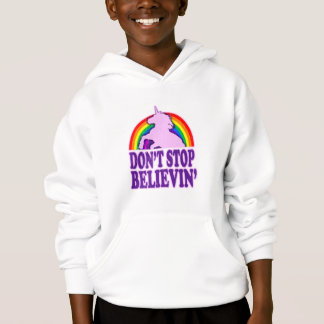 Funny Don't Stop Believin' Unicorn