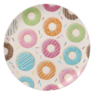 Funny Donut Plate