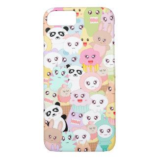 Funny doodle kawaii iPhone 8/7 case