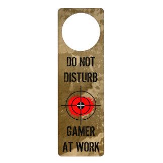 Funny door hanger for gamers | Do not disturb!