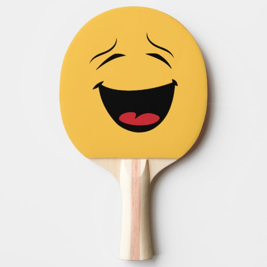 Funny Double Sided Happy Sad Ping Pong Bat
