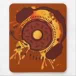 Funny_Doughnut Mouse Mat