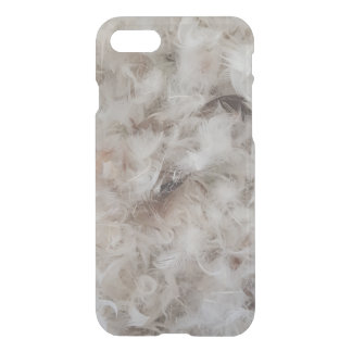 Funny Down Comforter Bird Feathers Photography iPhone 7 Case