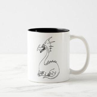 Funny Dragon for Kids! Mugs