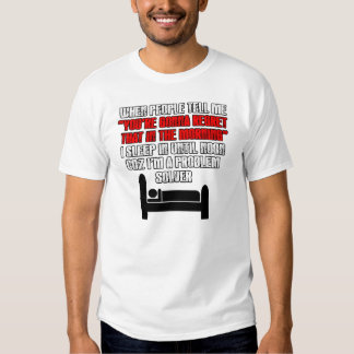 Funny drinkers tee shirt