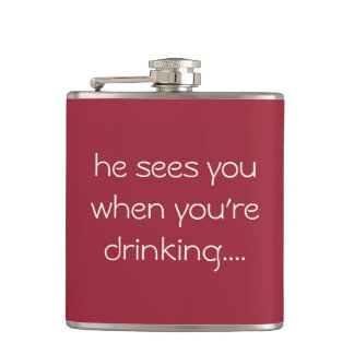 Funny drinking gift...Christmas flask