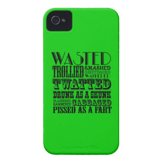 Funny drinking iPhone 4 case