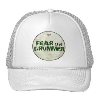 Funny Drummers Hats Fear The Drummer Baseball Cap