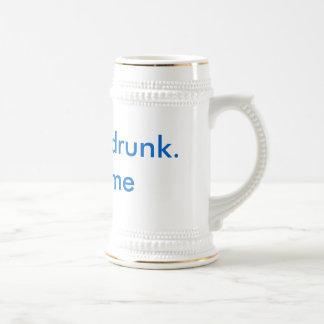 Funny Drunk Beer Stein