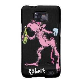 Funny Drunk Monkey Samsung Galaxy SII Covers