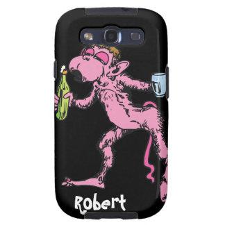 Funny Drunk Monkey Samsung Galaxy SIII Covers