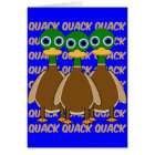 funny ducks card