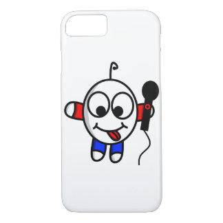 Funny dude singing iPhone 8/7 case