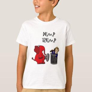 Funny Donald Trump Cartoon T-Shirts & Shirt Designs | Zazzle UK