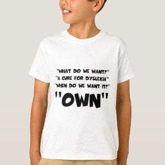 Funny dyslexic T-Shirt