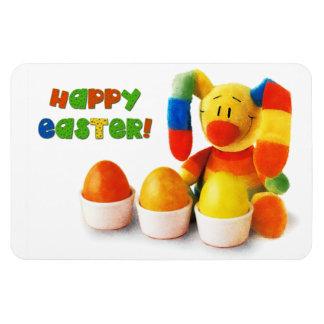 Funny Easter Bunny. Easter Gift Magnet