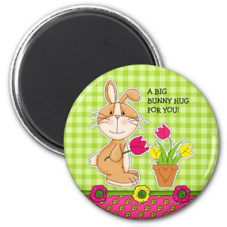 Funny Easter Bunny Gift Magnets