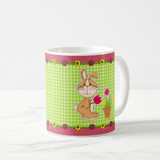 Funny Easter Bunny Gift Mugs for kids
