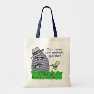 Funny Easter Egg Protection Program Bags