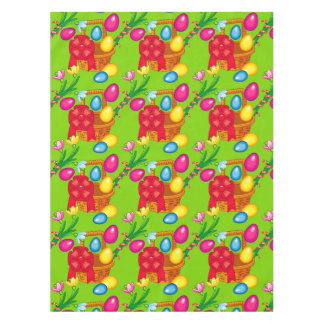 Funny Easter green pattern Tablecloth