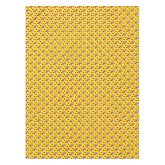 Funny Easter yellow pattern Tablecloth