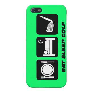 funny eat sleep golf case for iPhone 5/5S