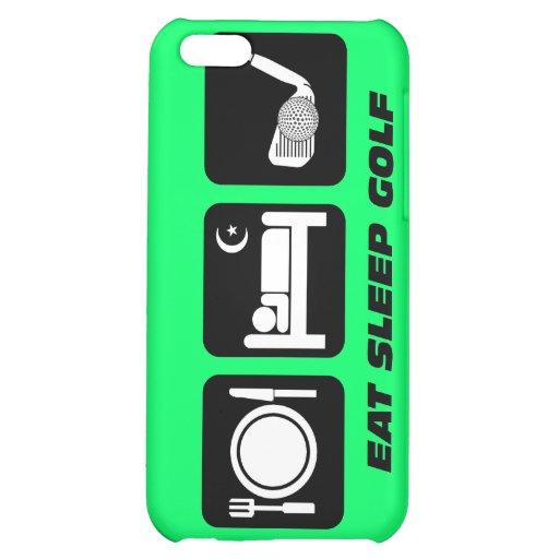 funny eat sleep golf iPhone 5C case